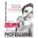 Mascarilla Tisú Intensiva Cara y Cuello Hidratante Hyaluronic Acid Plus Iroha