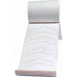 Protectores de papel tinte pestañas 96 UDS