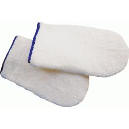 Manoplas de algodón para saunita
