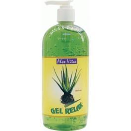 Gel Relax Aloe Vera dosificador 500 ml