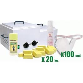 Kit para depilación corporal baja fusión
