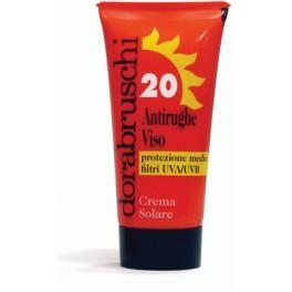 Crema Solar Antiarrugas facial Spf-20 50ml.