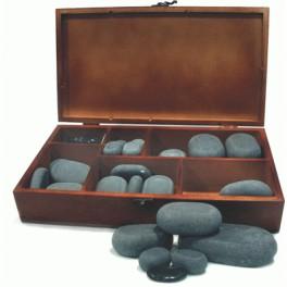 Set de Piedras Stone massage con caja