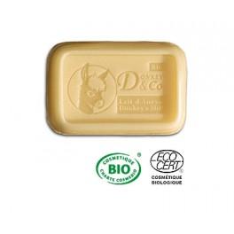 jabón certificado Bio leche de burra almendras y laurel 100 gr