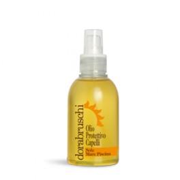 Aceite protector solar para cabello