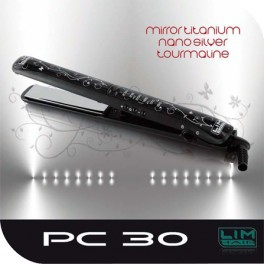 Plancha Alisadora PC 30 Mirror Titanium Nanosilver Tourmaline