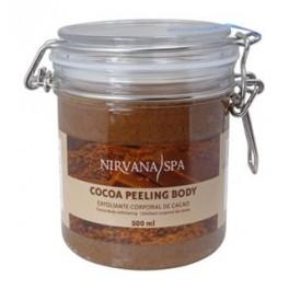 Peeling de chocolate corporal 500 ml.