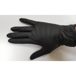 Guante Nitrilo negro caja 100 uds talla S