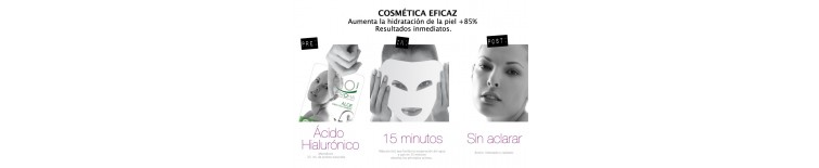 Mascarillas faciales de Belleza Express 23 ml.